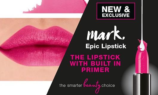 AVON Epic Lip, перша в світі губна помада з вбудованим праймером
