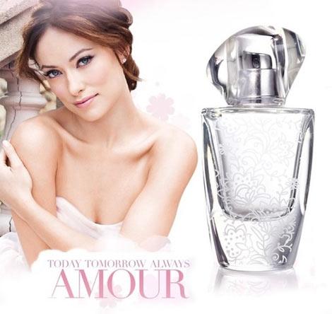 AVON Today Tomorrow Alwaya Amour Olivia Wilde
