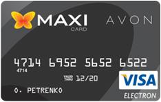 AVON - MAXI CARD