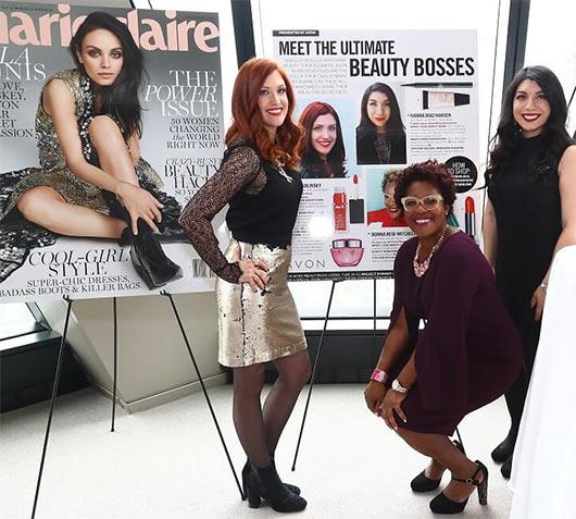 Avon и Marie Claire объединились, чтобы провести конференцию #BeautyBoss