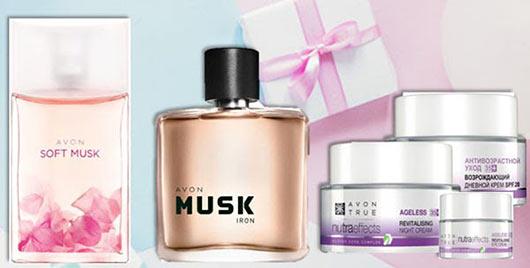 Нежный цветочный аромат Avon Soft Musk для Неё, чувственный Avon Musk Iron для Него